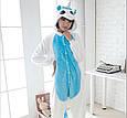 Кигуруми Бело-Голубой Единорог с крыльями, фото 3