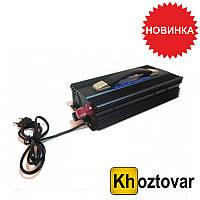 Преобразователь напряжения 2500W (инвертор 24В-220В 2500Вт)
