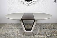 Стол обеденный DENVER (Денвер) 140/180 крем/венге от Niсolas (бесплатная доставка)