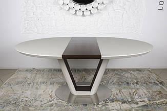 Стол обеденный DENVER (Денвер) 140/180 крем/венге от Niсolas
