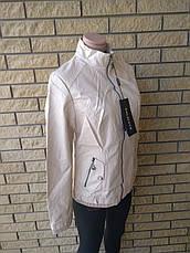 Куртка женская из экокожи HOLDLUCK, фото 2