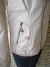Куртка женская из экокожи HOLDLUCK, фото 3