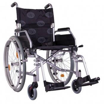 Инвалидная коляска легкая алюминиевая Ergo light вес: 12,5кг Ортопедическая подушка для коляски в ПОДАРОК.