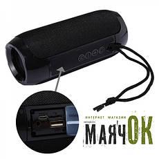Портативна Bluetooth-колонка T&G TG-117, c функцією speakerphone, радіо, black, фото 3