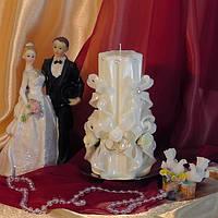 Свеча свадебная Art. RSS 05 белая