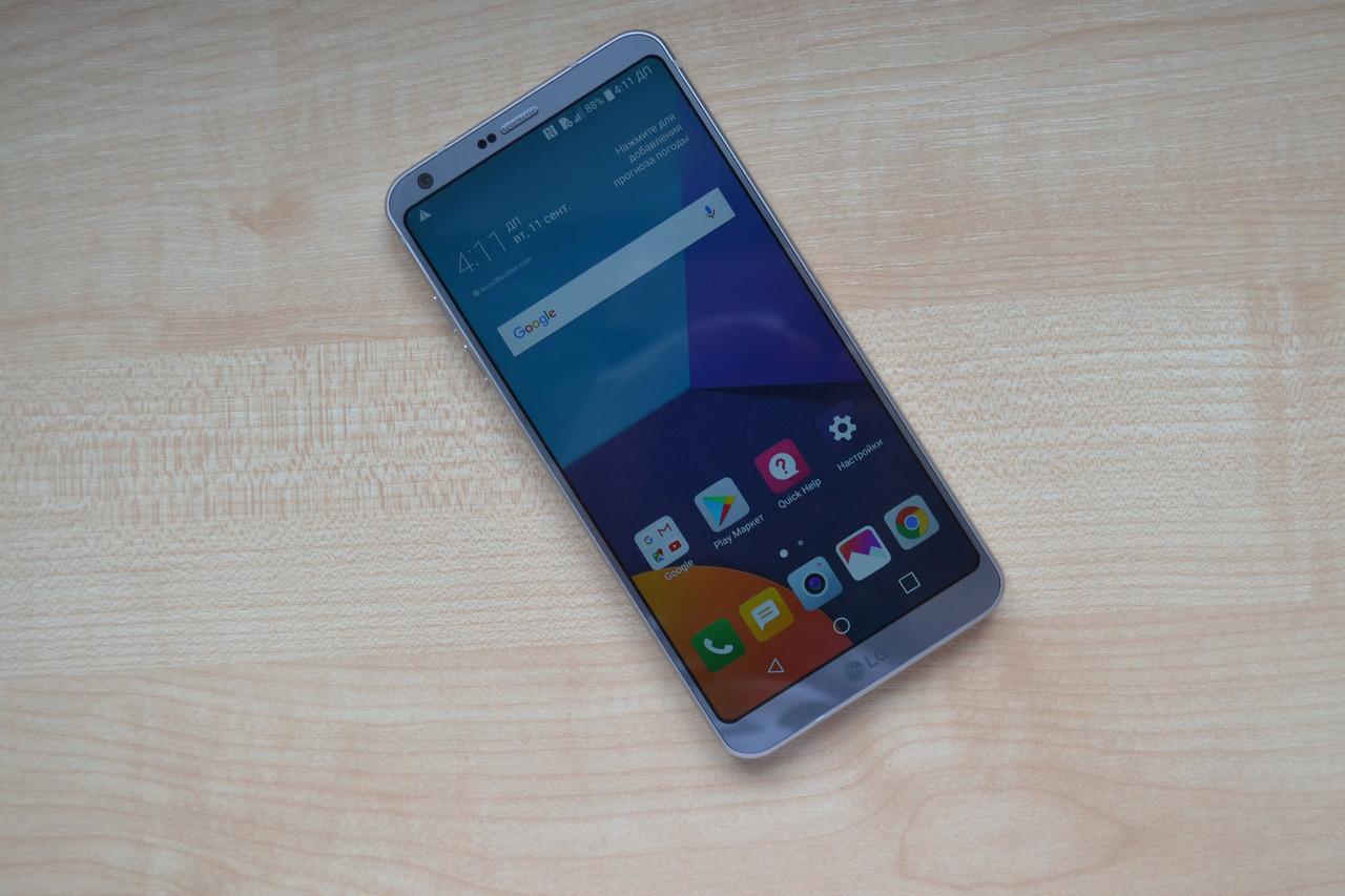 Смартфон LG G6 AS993 Ice Platinum - 4Gb RAM, 32Gb Оригинал!