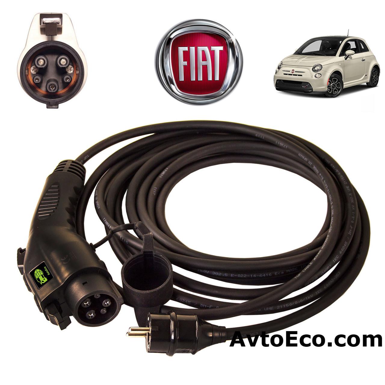 Зарядное устройство для электромобиля Fiat 500e AutoEco J1772-16A