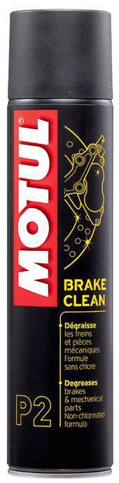 Очиститель тормозных дисков Motul P2 BRAKE CLEAN 400ML 102989