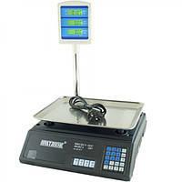 Торговые электронные весы до 50 кг Matarix MWS-411 + стойка, фото 1