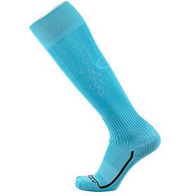 Футбольные гетры Europaw голубые с трикотажным носком