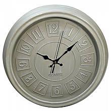 Круглые настенные часы ретро деревянные