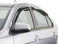 EGR ветровики Mazda 3 sedan с 2009- / комплект 4шт.
