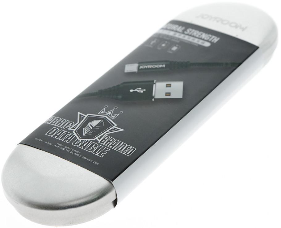 """Кабель micro USB """"JoyRoom"""" S-L316M Чорный"""