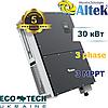 Сетевой инвертор Altek AKSG-30K-TM (30,0 кВт, 3 фазы, 3 MPPT)