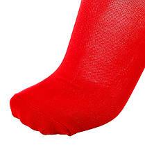 Футбольные гетры Labon красные, фото 2