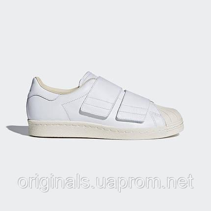 9b6eea92e6c3df Кроссовки на липучках Adidas Superstar 80s CF W CQ2447 - 2018/2, фото 2