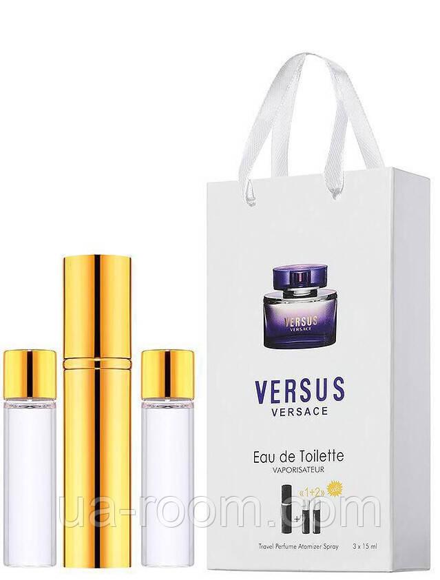Мини-парфюм женский Versace Versus, 3х15 мл