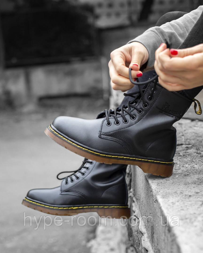 Ботинки Dr. Martens Boots на меху Унисекс 36-45 Реплика -   The c372b6d9c7fb7