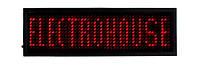 Бэйджи светодиодные EH-BL-001 44Х11 т. 93х30х6мм Красный