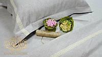 Комплект постельного белья Льняные кружева (Полуторный) из льна