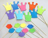 Фотобутафория Bonita Короны и Губы 18 предметов, фото 1