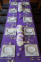 Посуда для свадьбы, что делать?