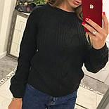 """Женский свитер/джемпер """"Коса"""" (5 цветов), фото 2"""