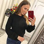 """Женский свитер/джемпер """"Коса"""" (5 цветов), фото 5"""