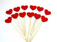 Фотобутафория Bonita Сердечки красные 12 предметов, фото 1