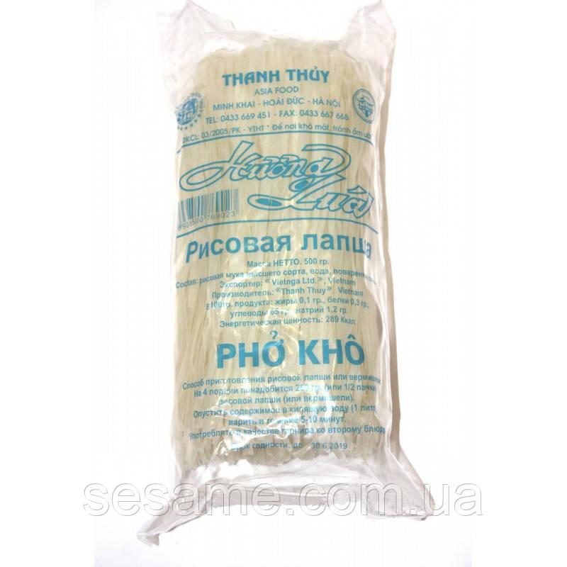 Рисовая лапша плоская Pho Kho 500г (Вьетнам)