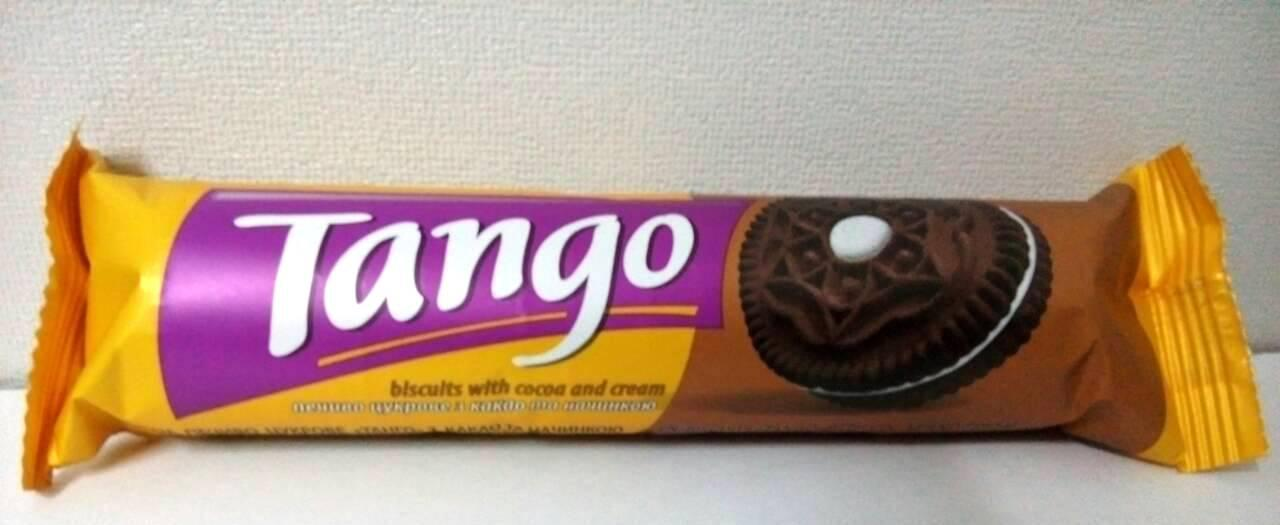 Печенье с какао и ванильным кремом 75г Танго