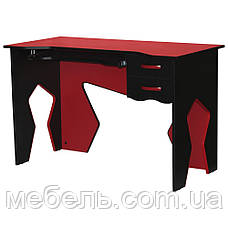 Офисный стол Barsky HG-02 Homework Game Red, с ящиками, красный, фото 2