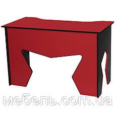 Офисный стол Barsky HG-02 Homework Game Red, с ящиками, красный, фото 3