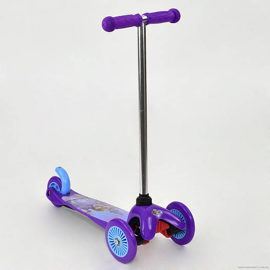 Самокат детский трехколесный София, фиолетовый
