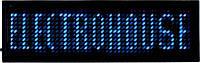 Бэйджи светодиодные EH-BL-002 44Х11 т. 93х30х6мм Синий