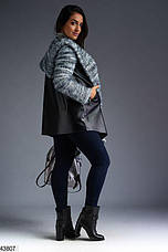 Новинка! Кардиган женский с капюшоном размеры: 48-50, 52-54, 56,58-60,62, фото 3