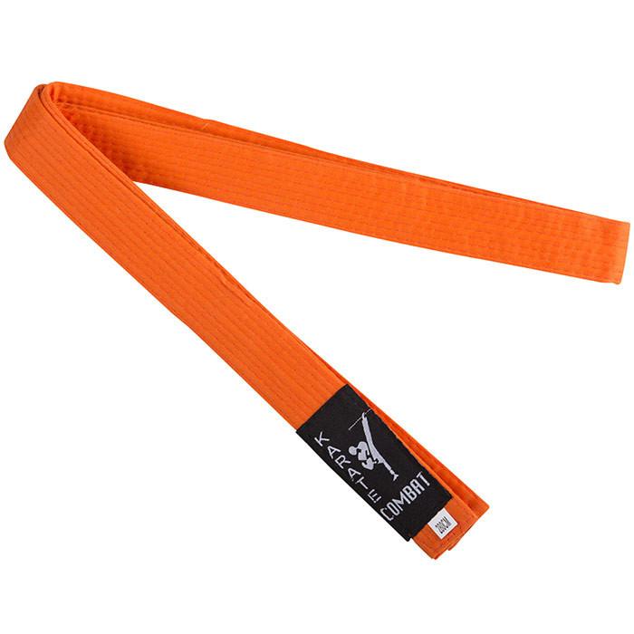 Пояс кимоно Combat оранжевый CP-280OR