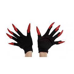 Перчатки с когтями короткие