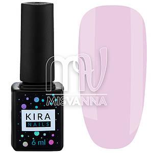 Гель-лак Kira Nails №001, 6 мл полупрозрачный лилово-розовый