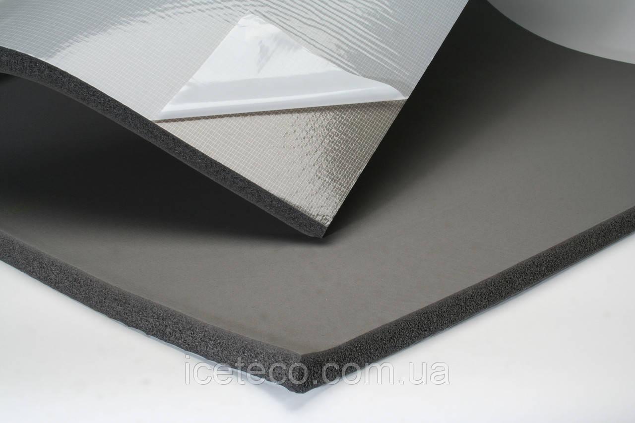 Теплоизоляция листовая каучуковая Kaiflex EF-E самоклеящийся PL16-R-SK