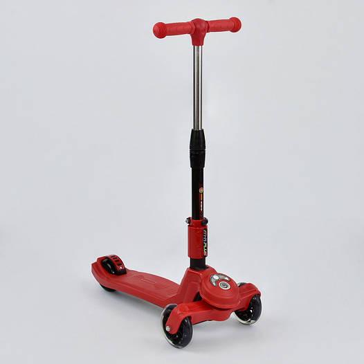Самокат детский трехколесный Best scooter красный от 3 лет