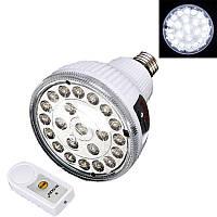Светодиодная лампа с аккумулятором и пультом Д/У 2 Вт