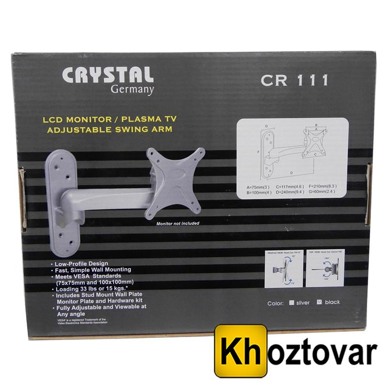 "Кронштейн Crystal Germany CR-111-(12""24)"