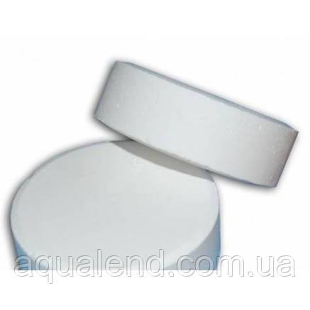 C-90Т, 5кг повільнорозчинний хлор для басейну (дезінфекант тривалої дії) у таблетках, AquaDoctor, фото 2