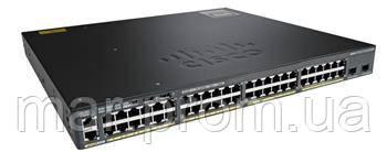 Коммутатор Cisco Catalyst 2960-X 48 GigE, 2 x 10G SFP+, LAN Base