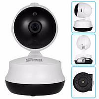Поворотная Wi Fi IP-камера видео наблюдения, Видеоняня. Ночное виденье, фото 1
