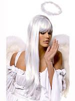 Парик из снежно белых волос