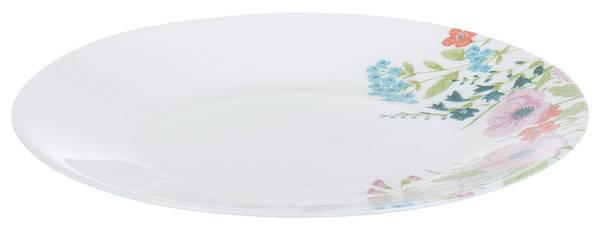 Тарелка LUMINARC ESSENCE ROSE POMPON /19 см /десерт. (N1262), фото 2