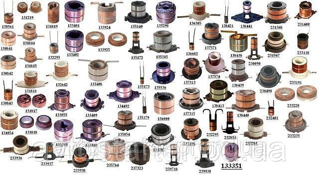 Коллектор якоря (ротора) генератора