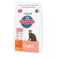 Hill`s Feline Light для кошек с избыточным весом - 1,5кг
